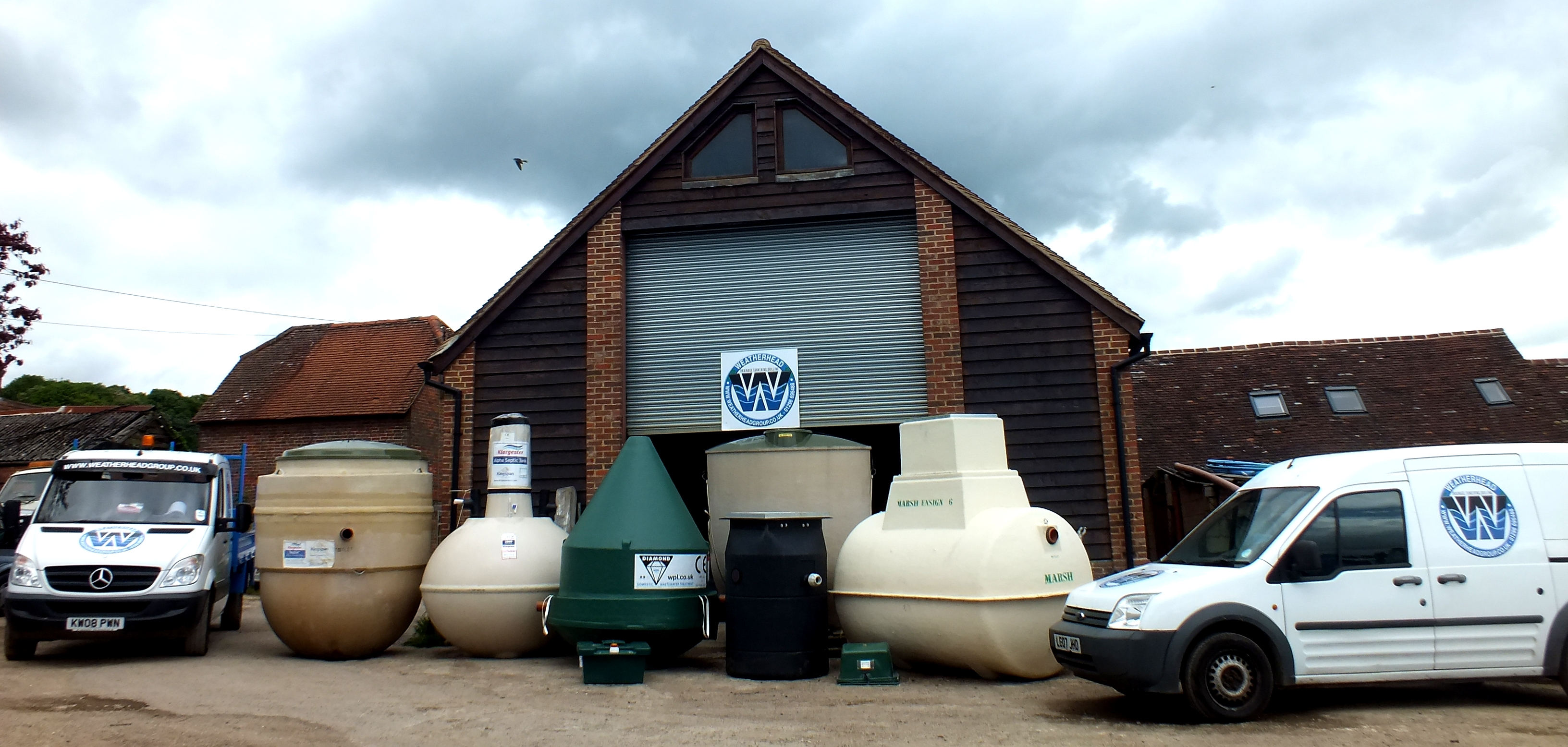 We hold in stock a varierty of Sewage Treatment Plants